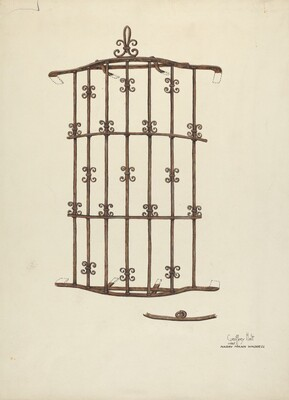 Iron Window Grille