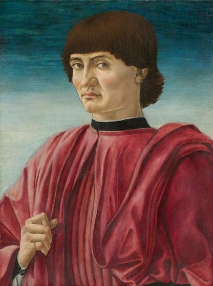 Andrea del Castagno, Portrait of a Man, c. 1450c. 1450