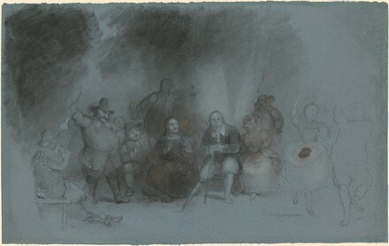 Study for Dance on the Battery in Presence of Peter Stuyvesant