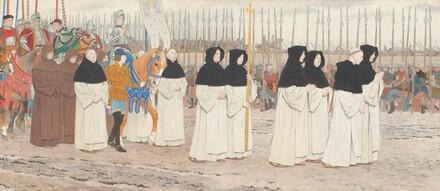 The Maid in Armor on Horseback (Joan of Arc series: III)
