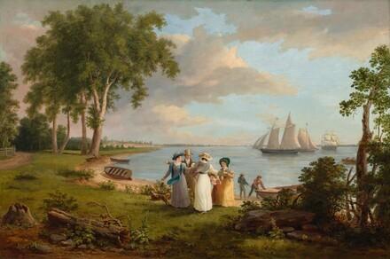 View of the Delaware near Philadelphia