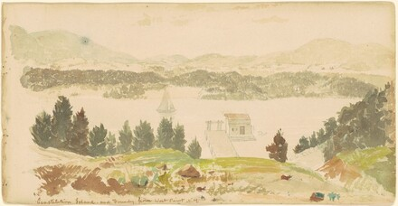 Constitution Island and Foundry from West Point, New York