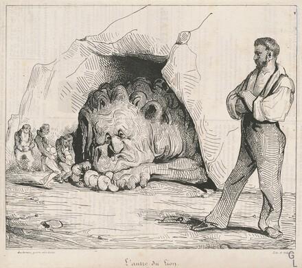 L'antre du lion