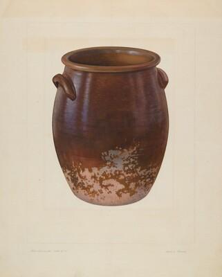 Large Earthen Jar