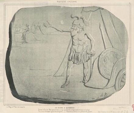 La colére d'Agamemnon