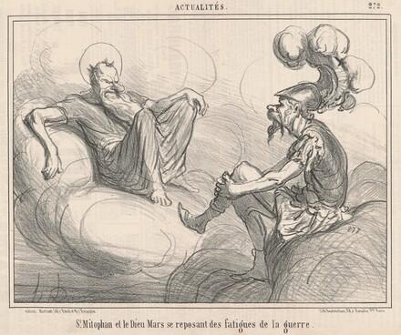 Saint Mitophan et le dieu mars ...