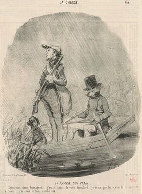 La chasse sur l'eau