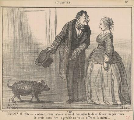 Etrennes de 1856 ...