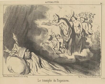 Le triomphe du paganisme