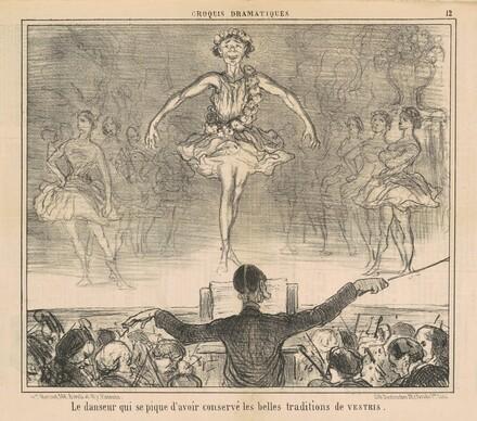 La danseur qui se pique d'avoir conservé ...