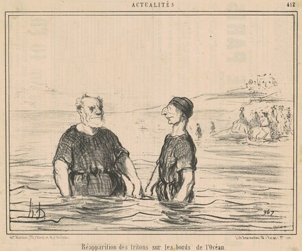 Rèapparition des tritons ... de l'océan