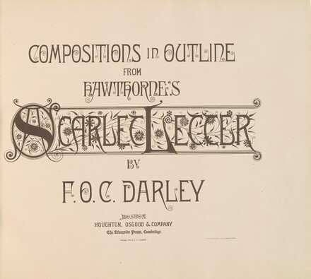 Compositions in Outline from Hawthorne's Scarlet Letter