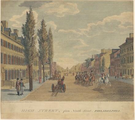High Street, from Ninth Street, Philadelphia