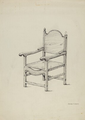 Chair (Scale Drawing)