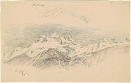 Mt. Baker and Mt. McKensie [recto]