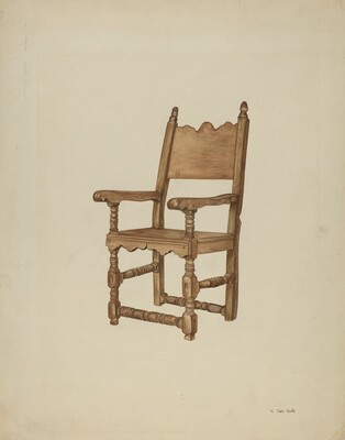 Sacristy chair
