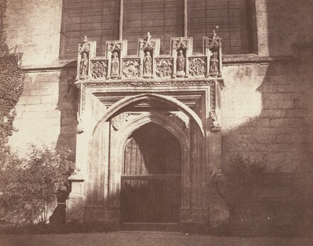 An Ancient Door, Magdalen College, Oxford
