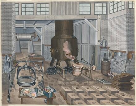 Iron Foundry, 1910