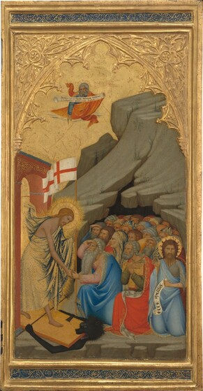 Scenes from the Passion of Christ: The Descent into Limbo [right panel]