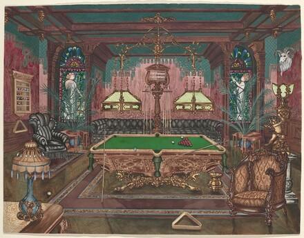 Pool Room, 1890