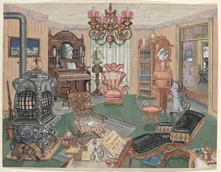 Rural Sitting Room, 1900