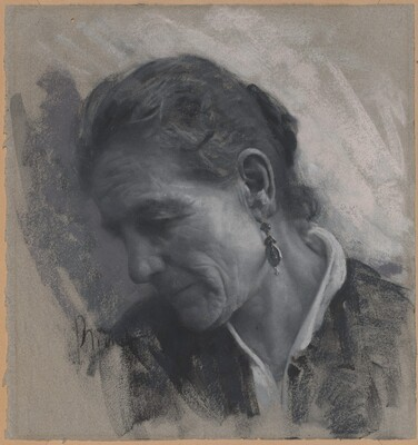 Luisa Carmignani, the Artist's Mother-in-Law