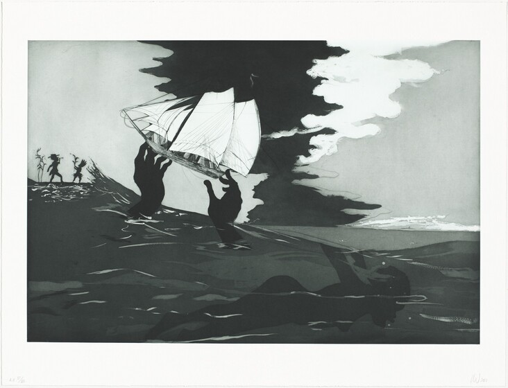 Kara Walker, Greg Burnet, Burnet Editions Master Printers, Sikkema Jenkins & Co., no world, 2010
