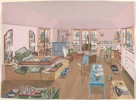 Bedroom, 1940