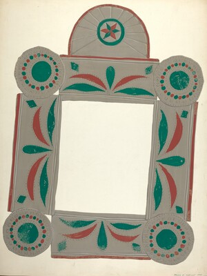 Lockwood Painted Mirror