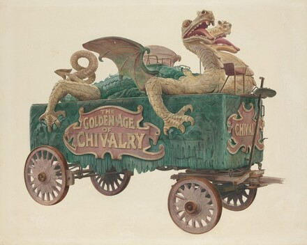 Age of Chivalry Circus Wagon