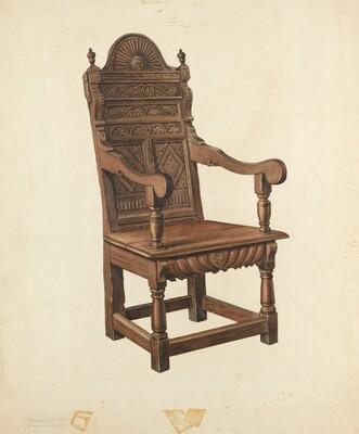 Jacobean Armchair