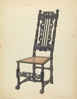 High-Back Side Chair