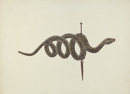 Serpent Weather Vane
