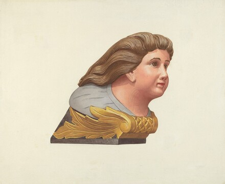 Figurehead from Schooner Packet