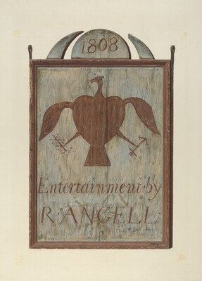 R. Angell's Tavern Sign