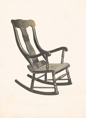 Rocking Chair (Square Back)