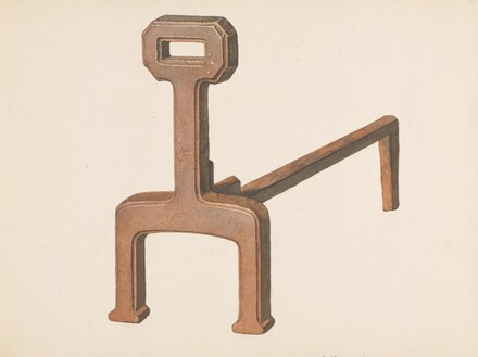 Andiron or Fire Dog