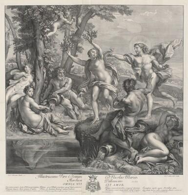 Omnia Vincit Amor [Apollo and Daphne]