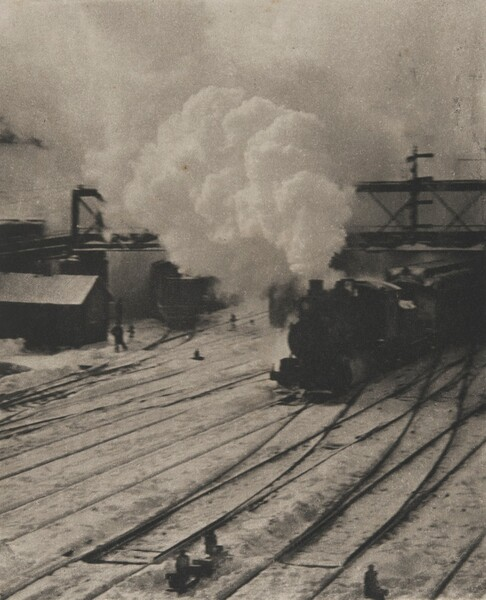 In the New York Central Yards
