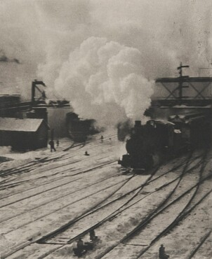 image: Snapshot—In the New York Central Yards