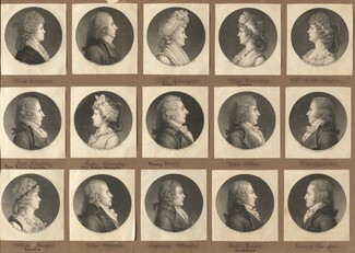 Saint-Mémin Collection of Portraits, Group 2