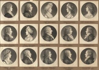 Saint-Mémin Collection of Portraits, Group 2