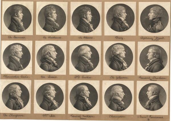 Saint-Mémin Collection of Portraits, Group 31