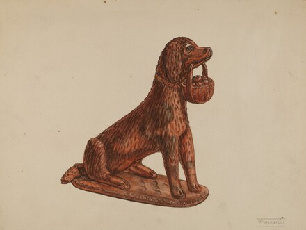Statuette of a Dog