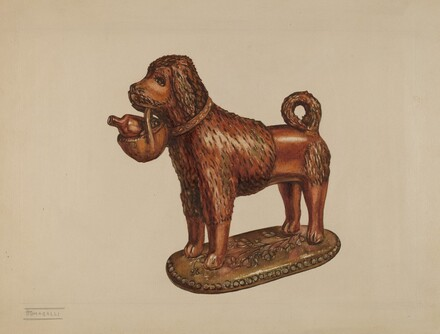 Statuette of a Dog
