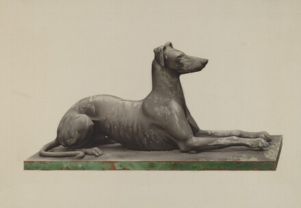 Garden Ornament (Greyhound)