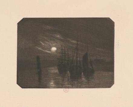 A Moonlit Harbor