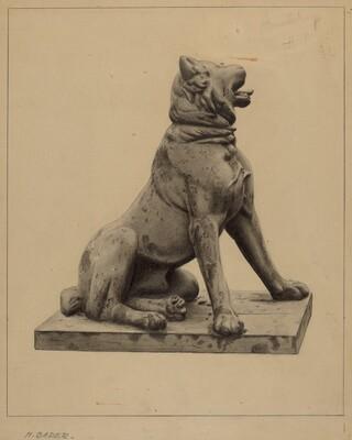Cast Lead Dog