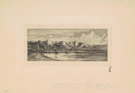 Nouvelle Zélande, Presqu'ile de Banks (View of Collier's Point, New Zealand)