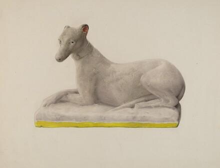 Chalkware Greyhound